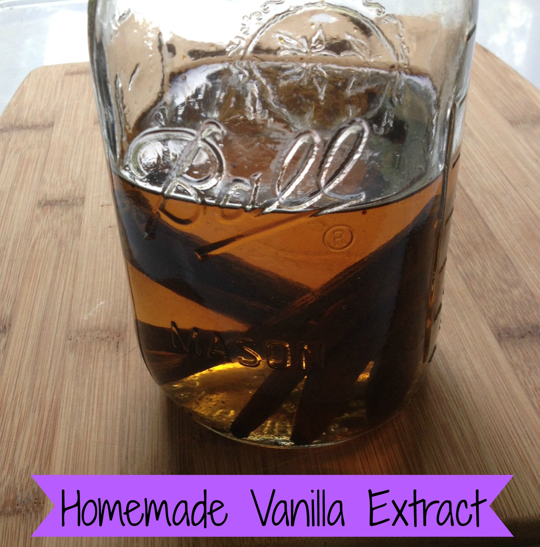 how to make liquid vanilla from vanilla beans