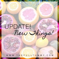 Quick Update & a New Thing!
