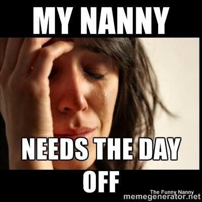 #nanny #aupair Humor The Funny Nanny