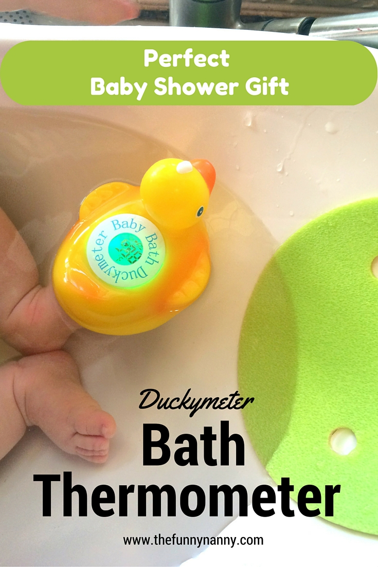bath thermometer duckymeter is perfect baby shower gift not to