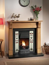 Mantels And Tiled Inserts | THE GALLERY COLLECTION