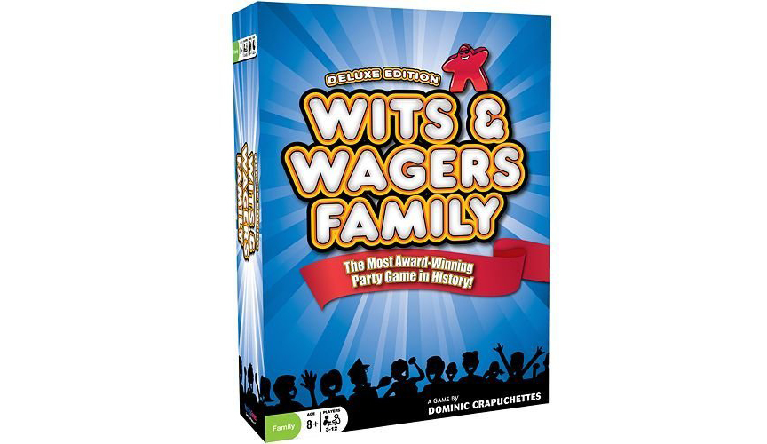 Wits & Wagers Family: Meeplelicious! (seriously)