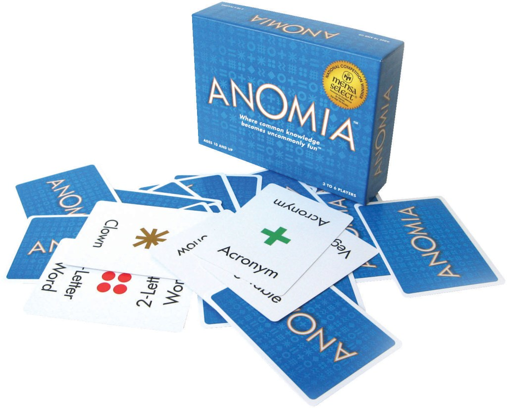 Anomia: Buy it now or wait for the party edition later in 2013! Either way, it's a MUST GET game.