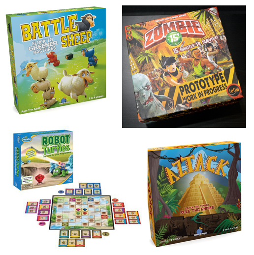 light strategy games - toy Fair 2014