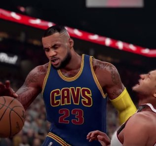 LeBron is immovable