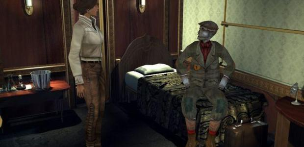 """<div class='at-above-post-homepage addthis-toolbox' data-title='News: Critically Acclaimed PC Game 'Syberia' Rated For Xbox 360' data-url='http://www.thegamescabin.com/critcally-acclaimed-syberia-rated-for-xbox-360/'></div><div class='at-above-post-homepage-recommended addthis-toolbox' data-title='News: Critically Acclaimed PC Game 'Syberia' Rated For Xbox 360' data-url='http://www.thegamescabin.com/critcally-acclaimed-syberia-rated-for-xbox-360/'></div><p><span style=""""font-family: arial,helvetica,sans-serif; font-size: 12pt;"""">Cast your mind back to 2002 when the world was a far simpler place; download content was still a publishers wet dream, Call of Duty was a fresh experience and one of the highest rated PC games ever was released </span>…</p>"""