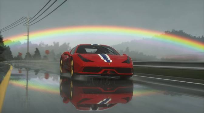 Picture: Driveclub's Improved Weather Graphics Bring Some Beautiful Double Rainbows