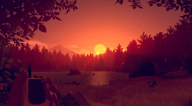 News: Visually Stunning First-Person Adventure Game Firewatch Will Be Shown Off Soon