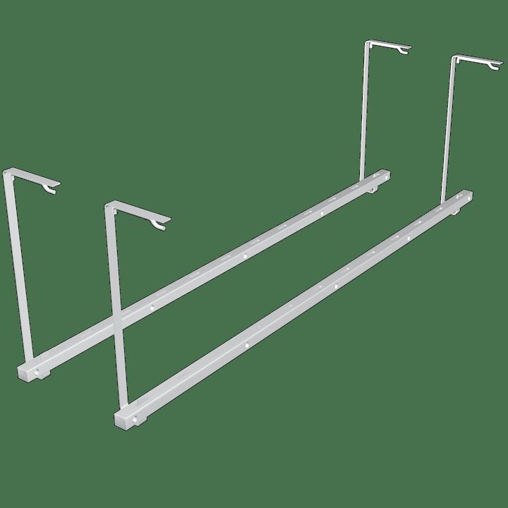 Ladder Hanger White The Garage Organization Company