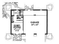 Garage Apartment Plans | 2-Car Garage Plan with Guest ...