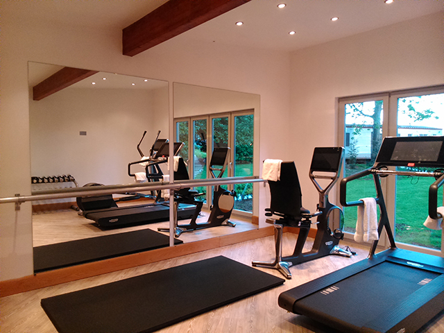 Timber Framed Home Gym by Studs 3