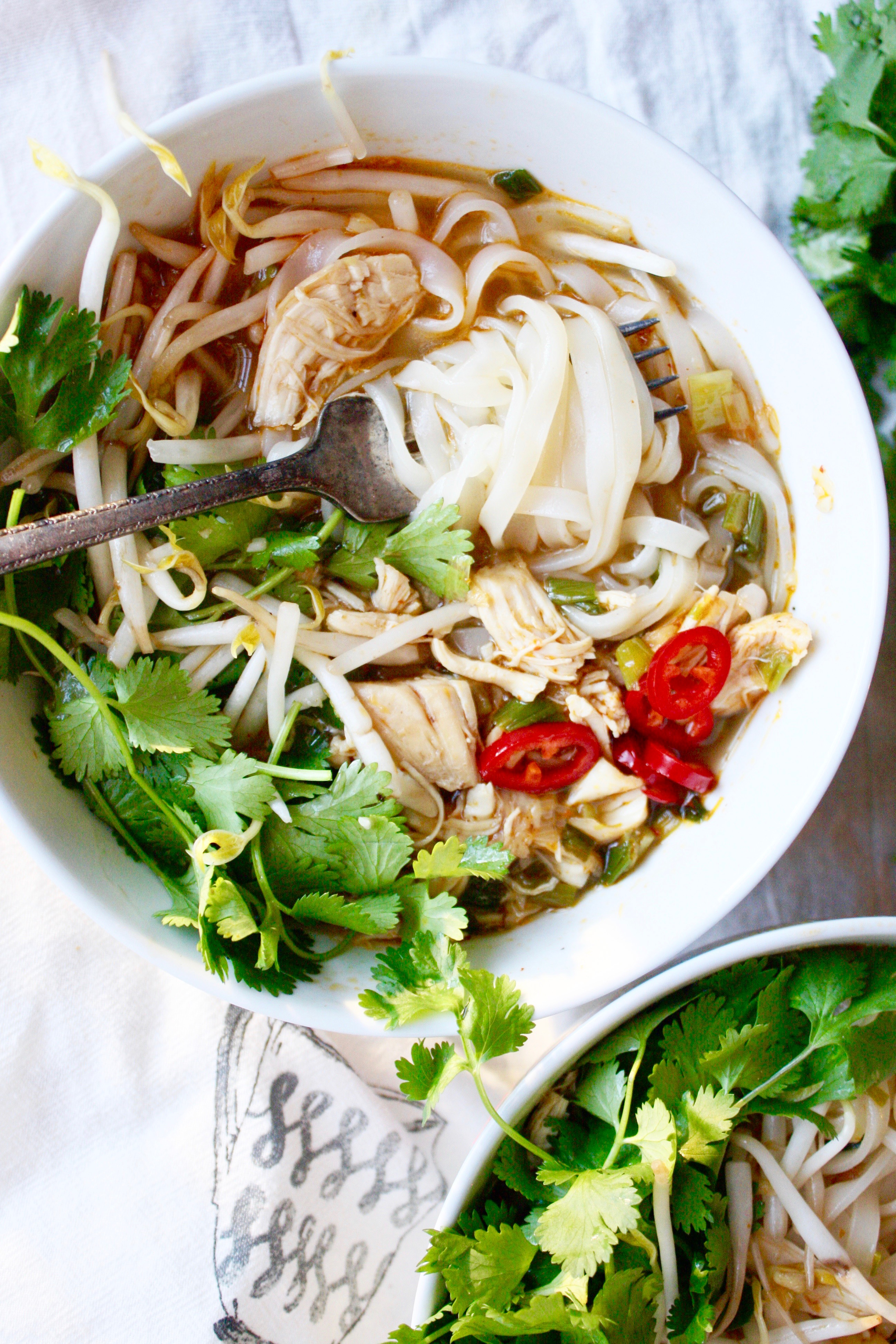 how to cook perfect rice noodles