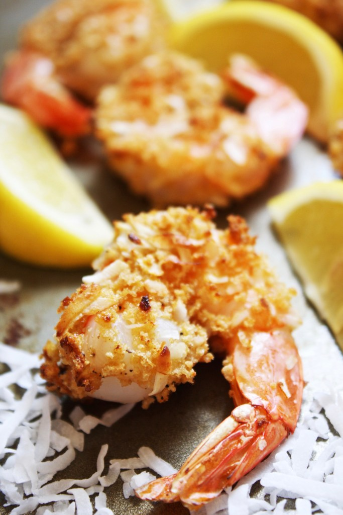 Baked Coconut Shrimp [21 Day Fix] - These crunchy, lightly breaded ...