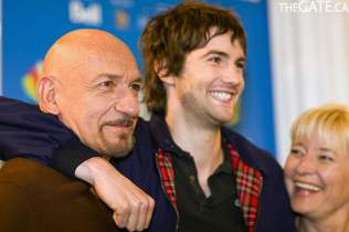 Sir Ben Kingsley, Jim Sturgess and Kari Skogland