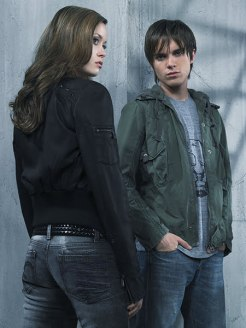 Summer Glau and Thomas Dekker
