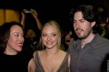 Karyn Kusama, Amanda Seyfried, and Jason Reitman