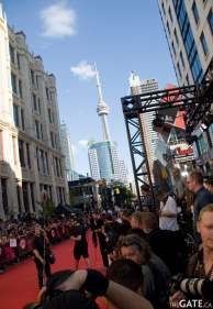 The MMVA red carpet