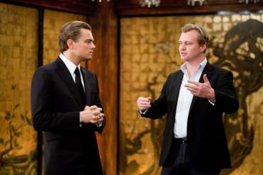 Leonardo DiCaprio and director Christopher Nolan