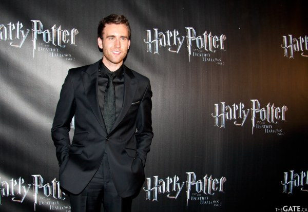 Actor Matthew Lewis