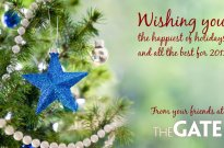 Holiday wishes from The GATE