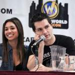 Meaghan Rath and Sam Witwer
