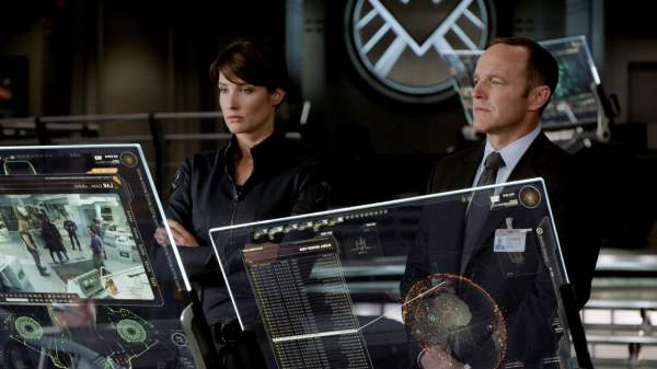Colbie Smulders and Clark Gregg