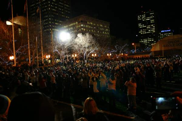 Grey Cup Festival flash mob