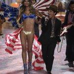 Lily Aldridge and Bruno Mars