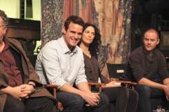 Eddie McClintock and Joanne Kelly
