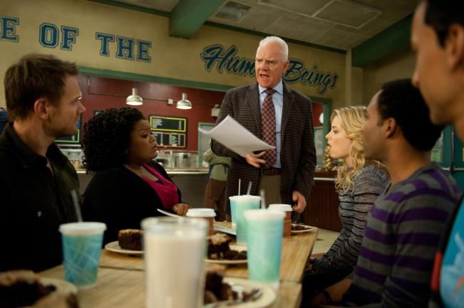 Malcolm McDowell on Community