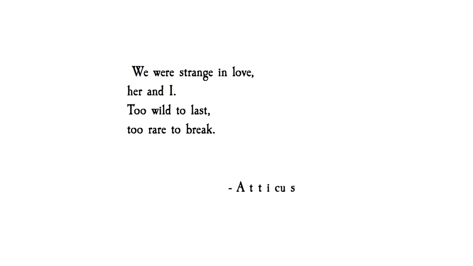 Short Life Quotes Wallpaper Book Review Insta Poet Atticus S Love Her Wild The