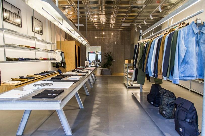 Carhartt Opens Flagship NYC Work in Progress Shop