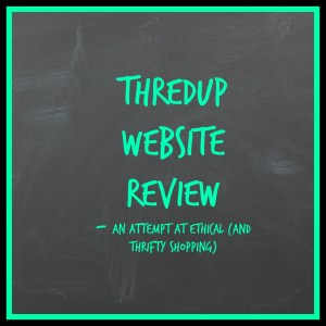 ThredUp – a new favorite for ethical fashion