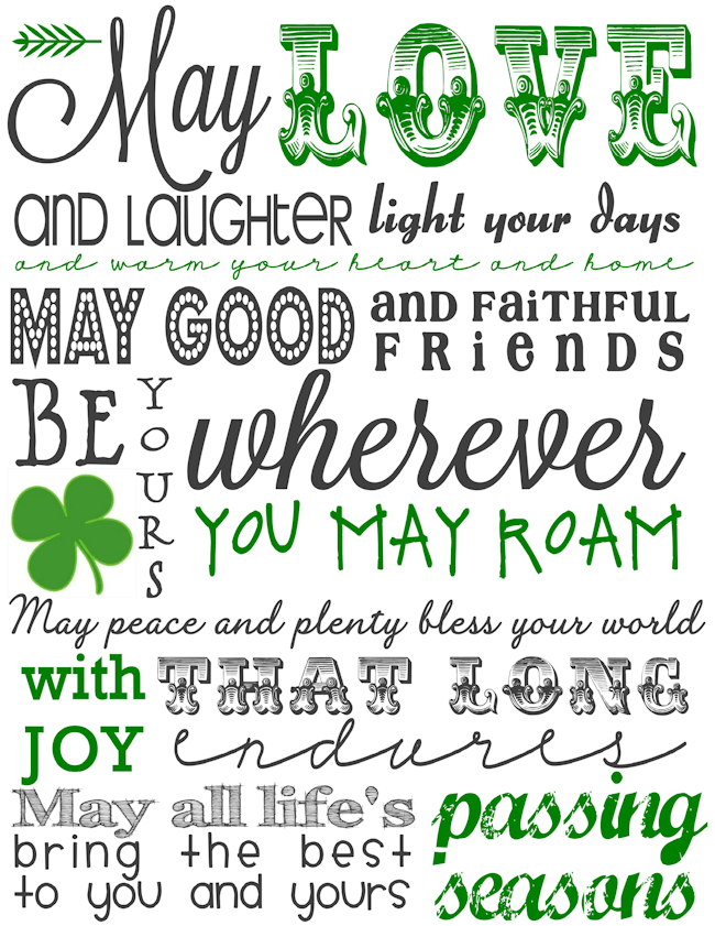 Irish Blessing Subway Art-blog size