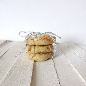 Delicious White Chocolate Confetti Cookies