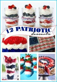 12 Patriotic Desserts for Memorial Day and 4th of July