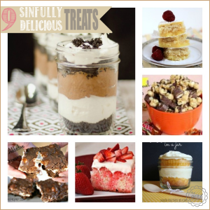 9 Sinfully Delicious Treats