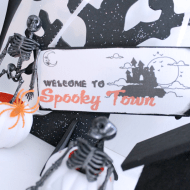 DIY Halloween Decor {Create a Simple Spooky Town}