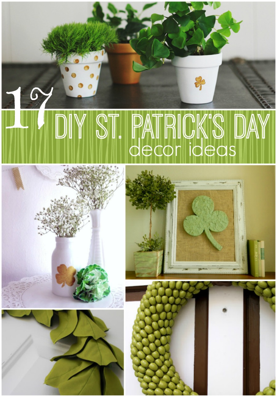 17 Diy St Patrick 39 S Day Decorating Ideas The Girl Creative