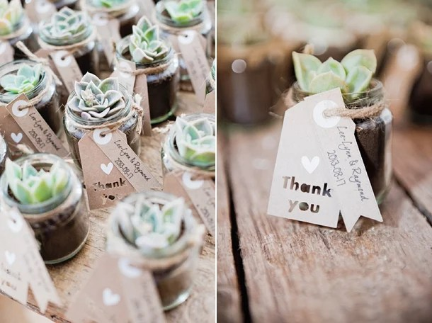 Thank You Gift Ideas South Africa : Succulent Favors :: Bloved Blog (photography by Taryn Rahl )