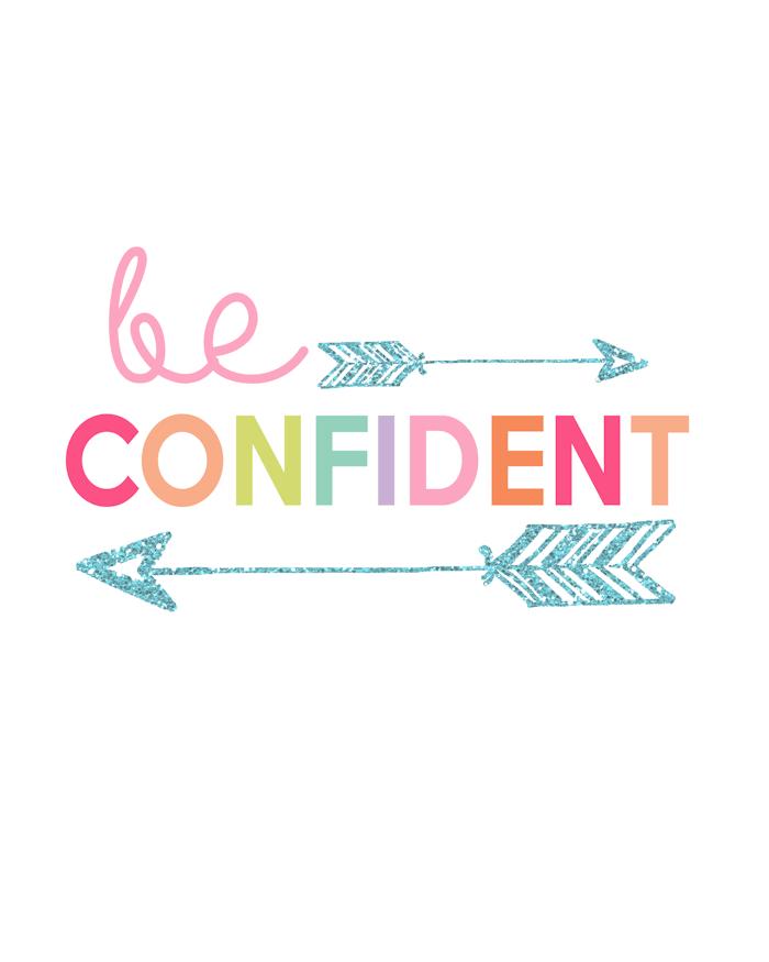 Kids Prints - Be Confident700