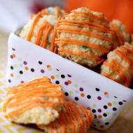 Pumpkin Cheesecake Cake Batter Cookies