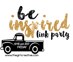 Be Inspired Link Party No. 77