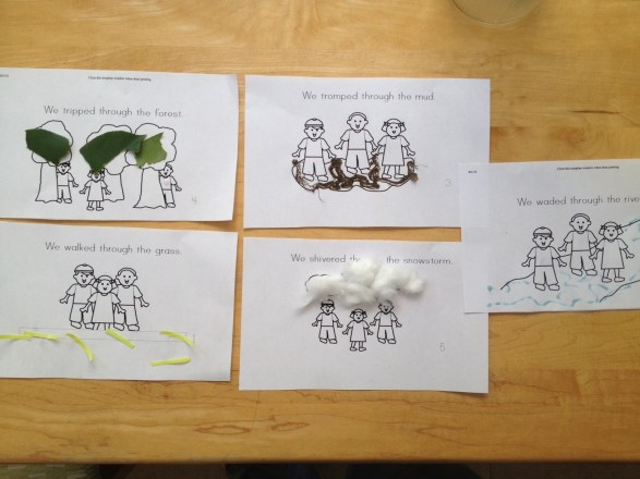 Tot School: Book Focus – We're Going on a Bear Hunt