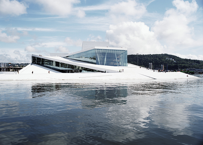 Oslo Opera House by Snøhetta. Photo courtesy by Snøhetta
