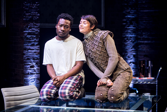 fisayo-akinade-the-dauphin-and-gemma-arterton-joan-in-the-donmar-warehouses-production-of-saint-joan-dir-josie-rourke-photo-jack-sain-2