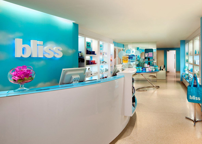 W Hotel, West Beverly Hills, Los Angeles, CA, United States of America, BLISS SPA reception