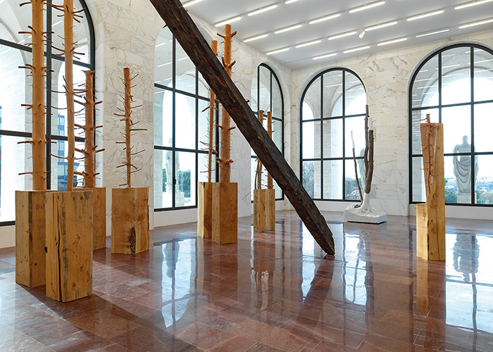 'Ripetere il bosco' (Repeating the forest) by Giuseppe Penone. Copyright Fendi.