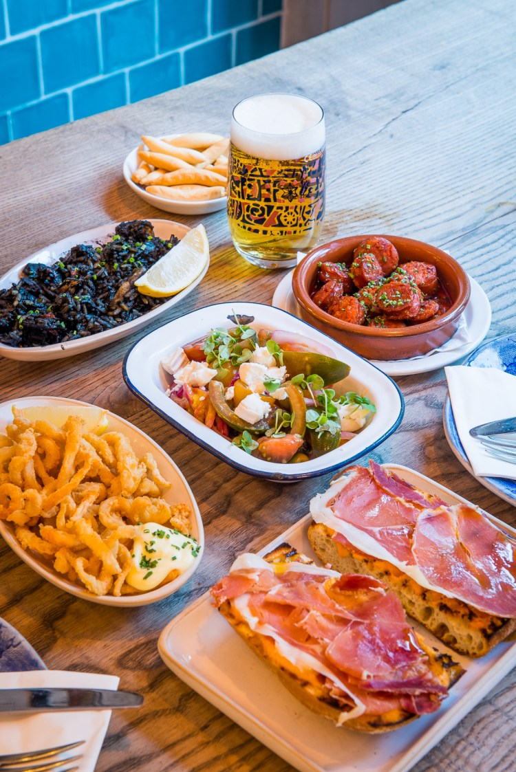 Tapas Revolution food selection