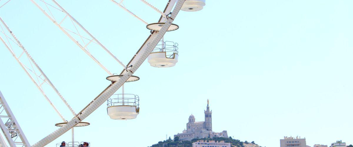 Marseille: Fish and Ferris Wheels